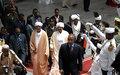 Omar Al-Bashir sworn in as Sudanese president