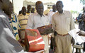 Abyei citizens presented with radios