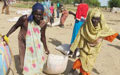 Fleeing conflict in Abyei