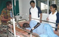 Indians treat victims of fighting in Malakal