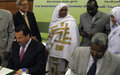 Khartoum governor, UN sign memorandum to coordinate development