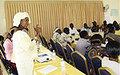 Parliamentarians receive gender training