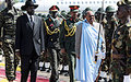 President Bashir visits Juba
