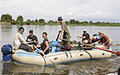 Rafting trip on White Nile spotlights tourism in Southern Sudan