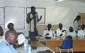 SSPS traffic officers complete skills workshop in Juba